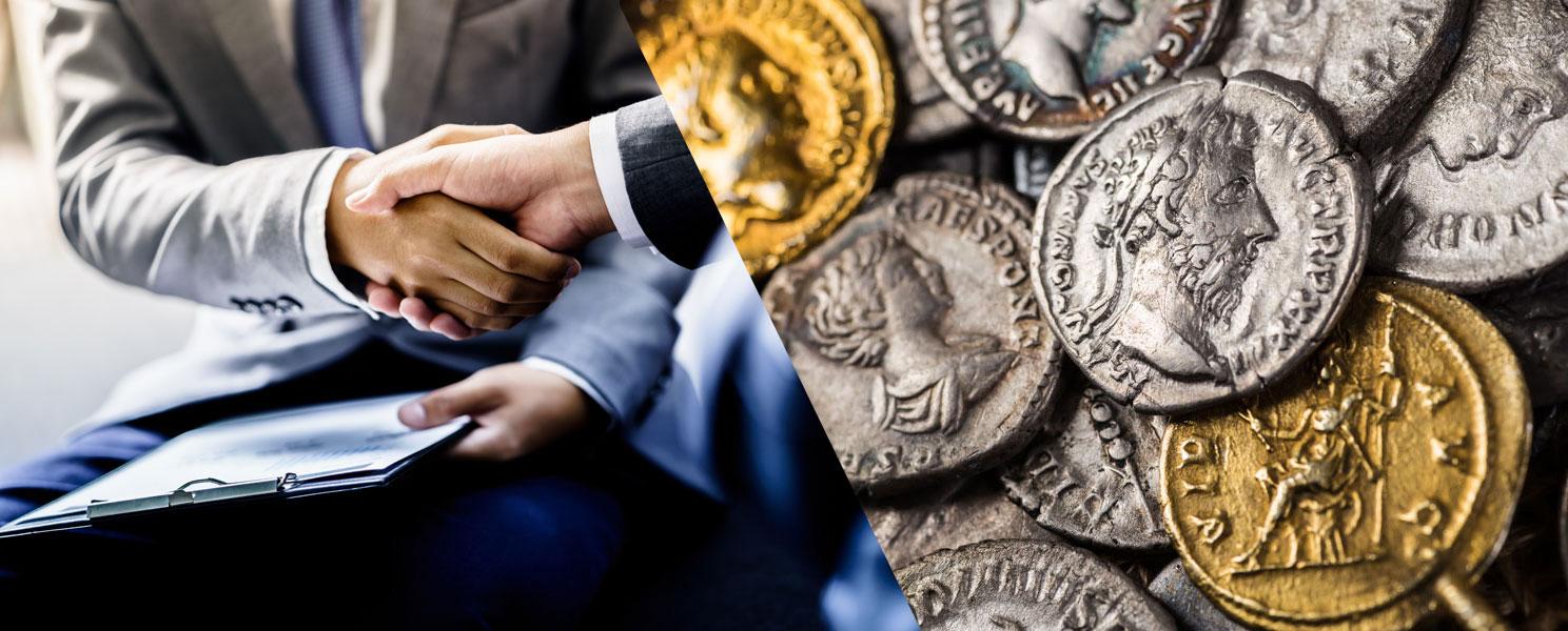 vender colección monedas