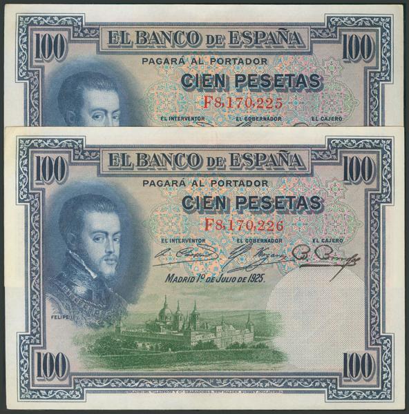 11 - Billetes Españoles