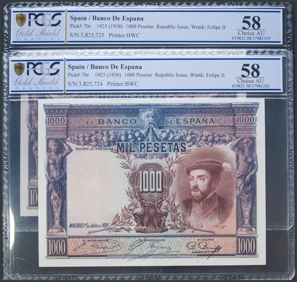 13 - Billetes Españoles