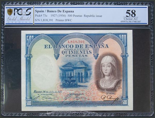 15 - Billetes Españoles