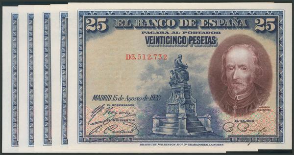 19 - Billetes Españoles