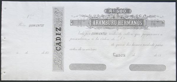 1 - Billetes Españoles