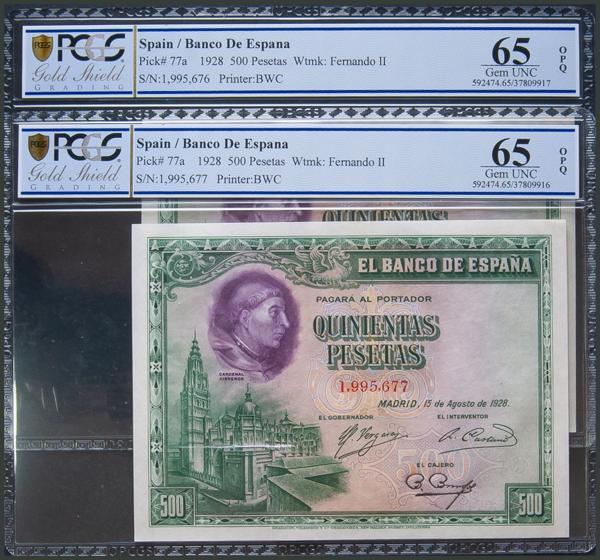 23 - Billetes Españoles