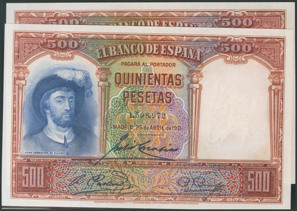 31 - Billetes Españoles