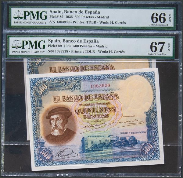 36 - Billetes Españoles