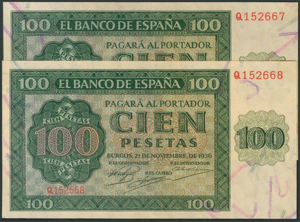 50 - Billetes Españoles
