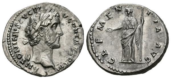 233 - ANTONINO PIO. Denario. (Ar. 2,98g/18mm). 140-143 d.C. Roma. (RIC 64; Cohen 124). EBC-. - 75€
