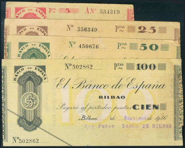 100 - Billetes Españoles