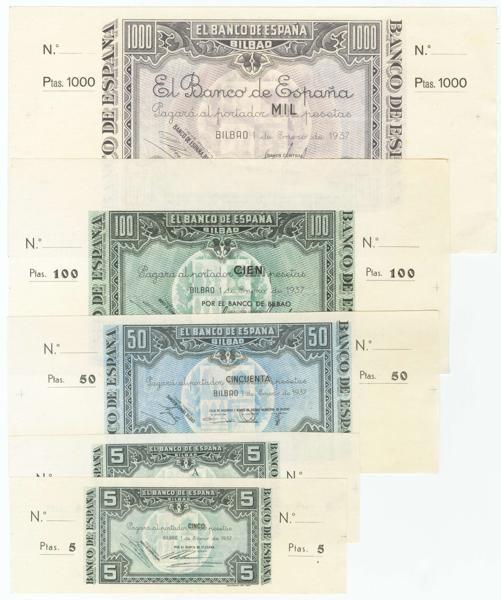 105 - Billetes Españoles