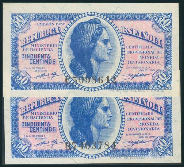 109 - Billetes Españoles