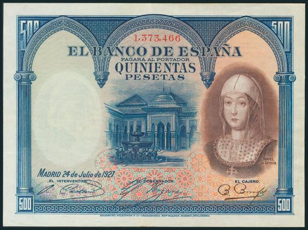 123 - Billetes Españoles