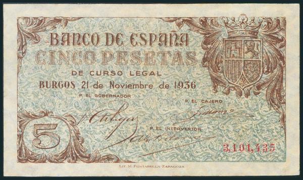 124 - Billetes Españoles
