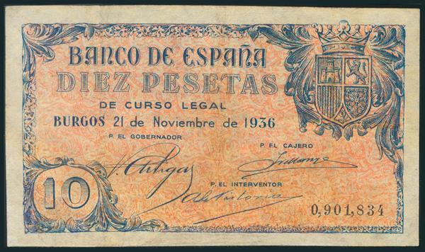 126 - Billetes Españoles