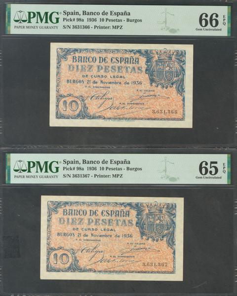127 - Billetes Españoles