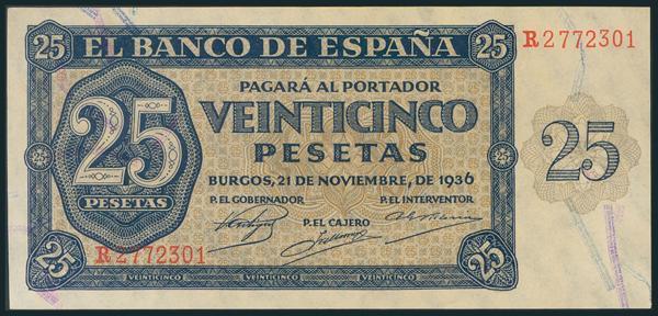 129 - Billetes Españoles