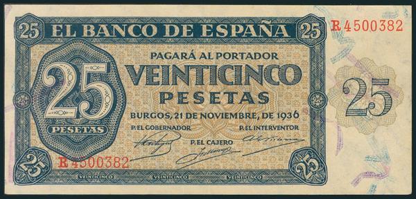 130 - Billetes Españoles