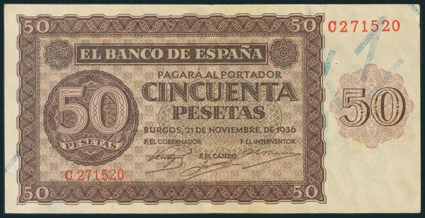 133 - Billetes Españoles