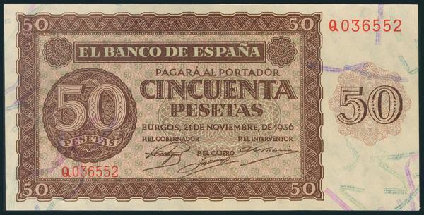 134 - Billetes Españoles