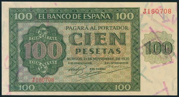 137 - Billetes Españoles