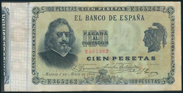 14 - Billetes Españoles
