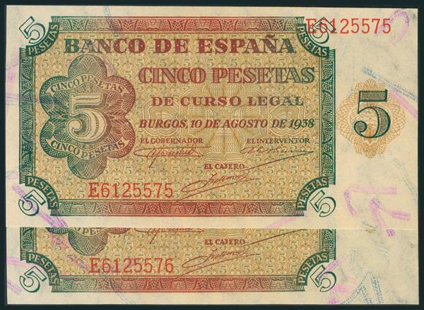 205 - Billetes Españoles