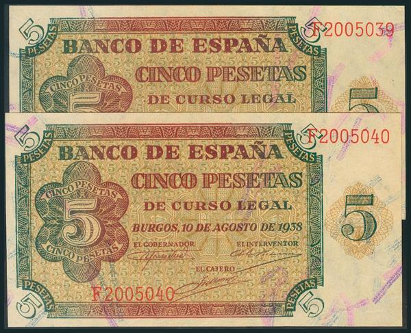 206 - Billetes Españoles