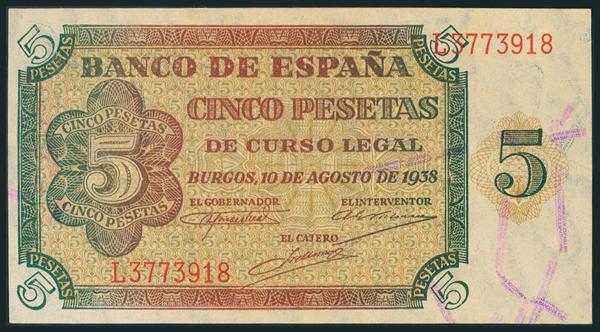 207 - Billetes Españoles
