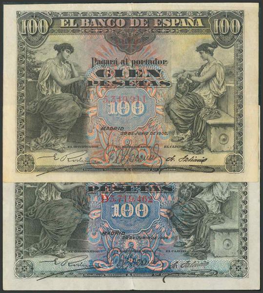 20 - Billetes Españoles