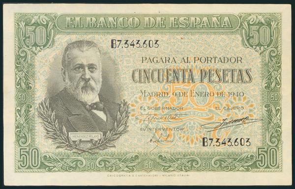 214 - Billetes Españoles