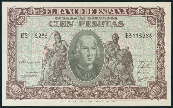 216 - Billetes Españoles