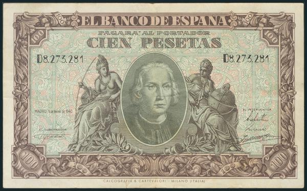 217 - Billetes Españoles