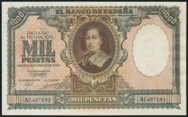 220 - Billetes Españoles