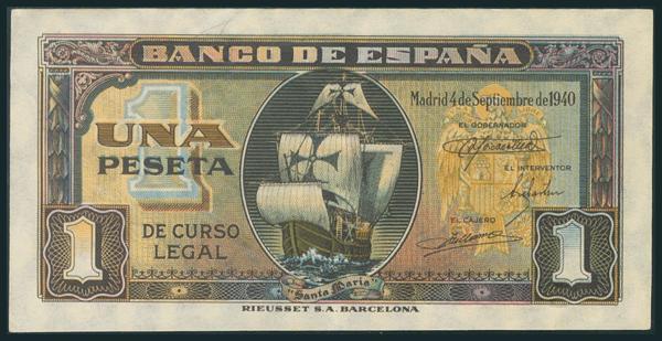 227 - Billetes Españoles
