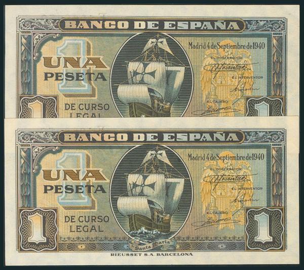 228 - Billetes Españoles