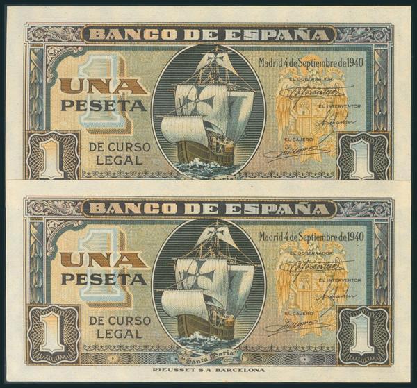 229 - Billetes Españoles