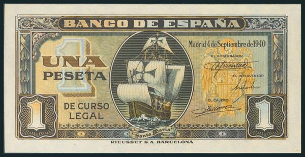 230 - Billetes Españoles