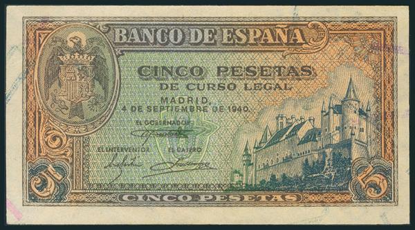 231 - Billetes Españoles