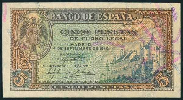 232 - Billetes Españoles