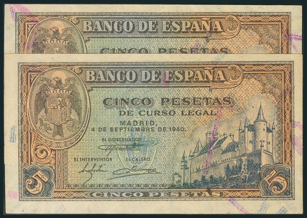 233 - Billetes Españoles