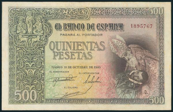 234 - Billetes Españoles