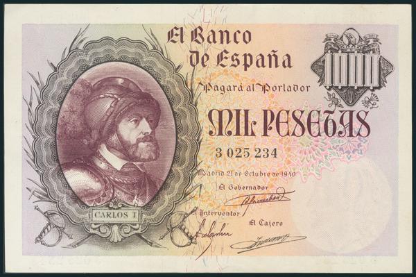 235 - Billetes Españoles