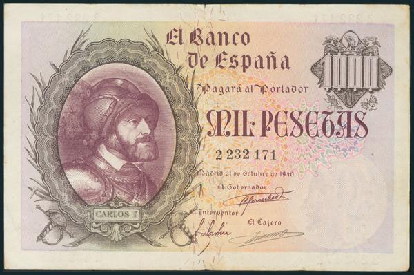236 - Billetes Españoles