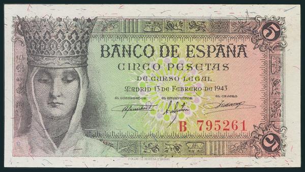 238 - Billetes Españoles