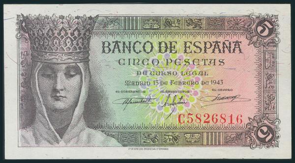 239 - Billetes Españoles