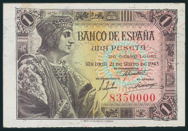 243 - Billetes Españoles