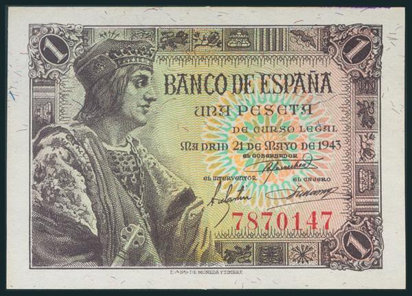 244 - Billetes Españoles