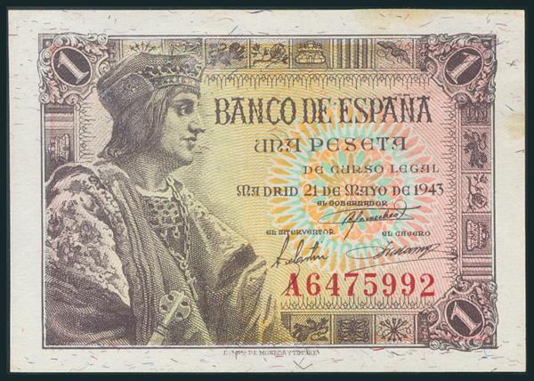 245 - Billetes Españoles