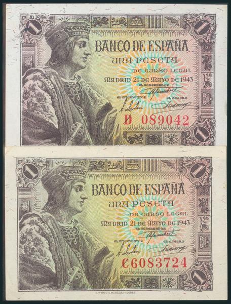 246 - Billetes Españoles