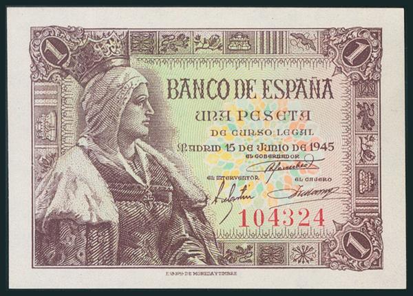 247 - Billetes Españoles