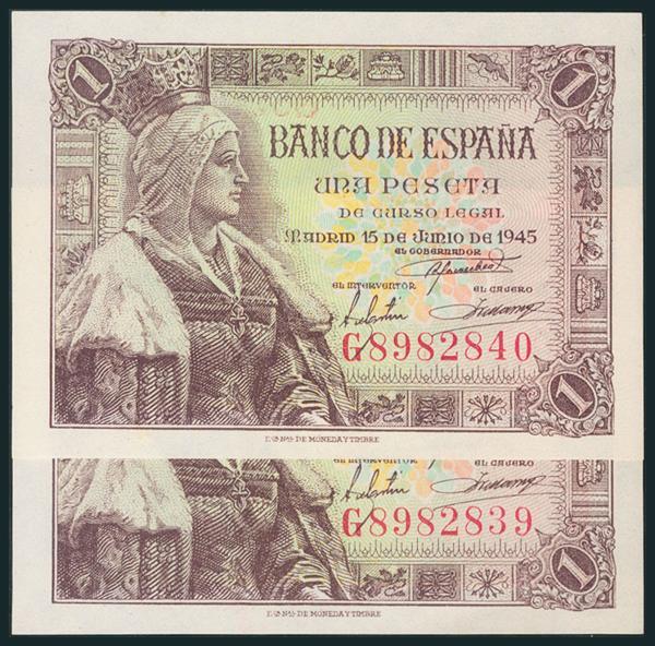 250 - Billetes Españoles